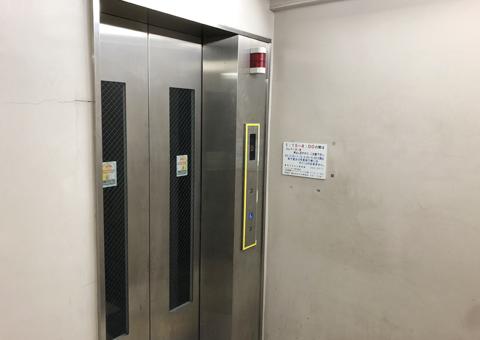 野毛ちかみちにあるエレベーター