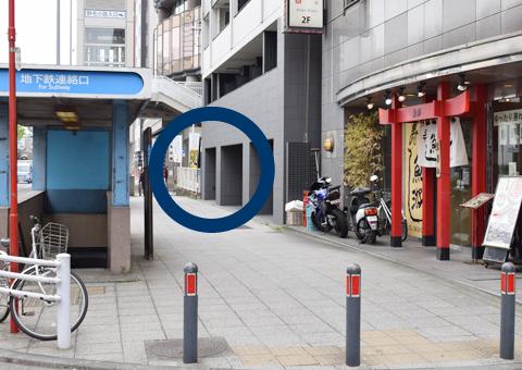 新横浜通り沿いにあるモンクール