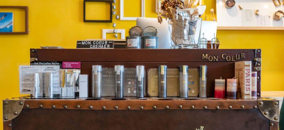ヘア&ネイルサロン「モンクール」の店内写真