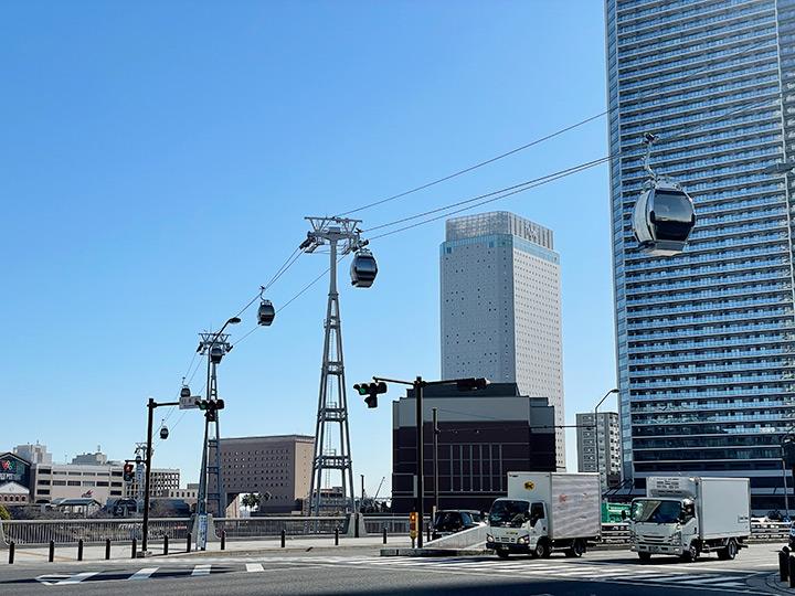 桜木町駅前に誕生するヨコハマエアーキャビンの写真